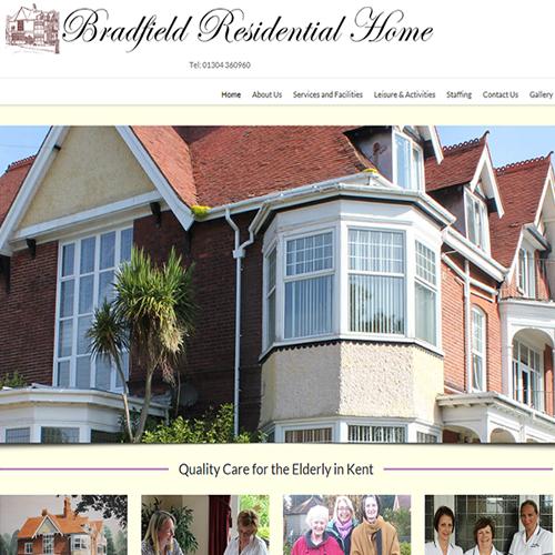 care home website design