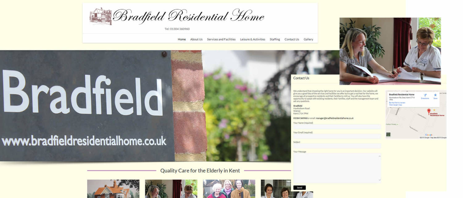 website design case study bradfield
