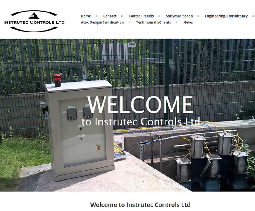 website design for Kent based engineering