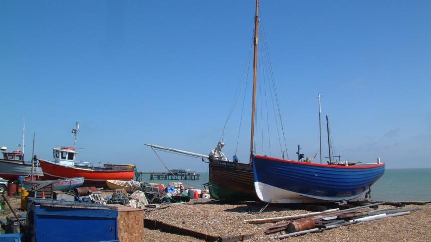 Deal, Kent beach
