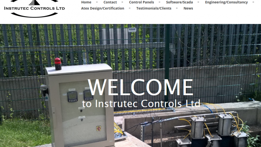 Instrutec, Maidstone website design