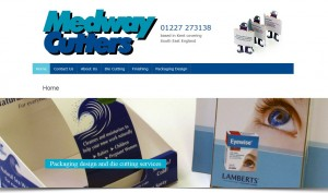 Medway Cutters website design