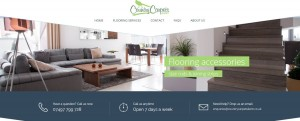 county carpets website design