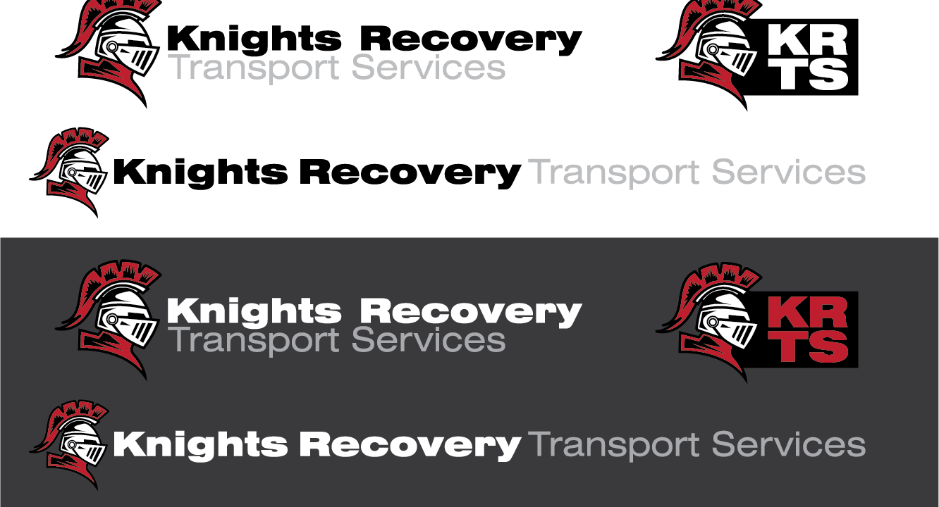 Knights Recovery logo design