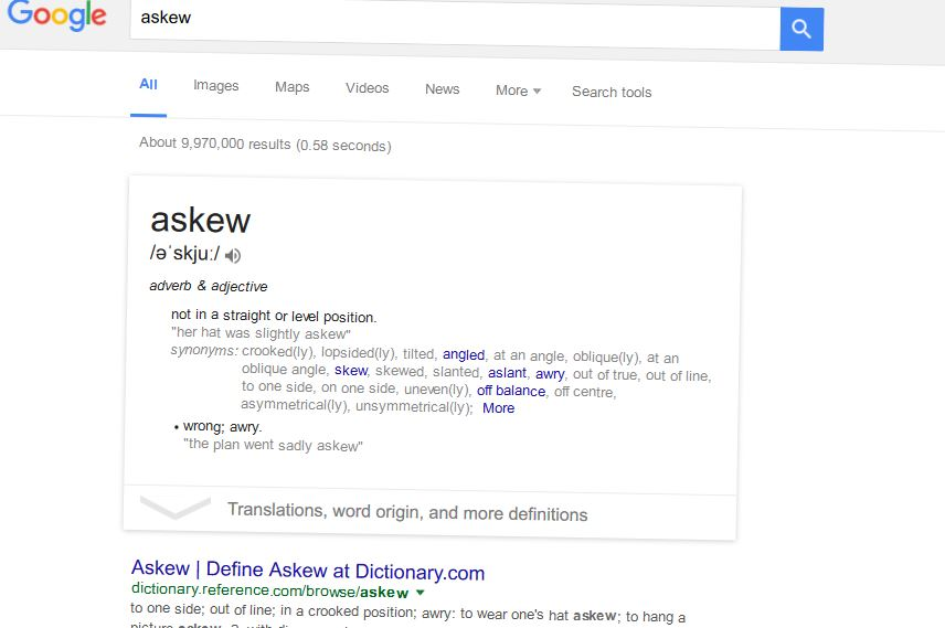 askew google search