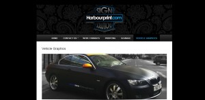harbour print new website design