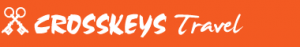 crosskeys travel, folkestone, kent logo