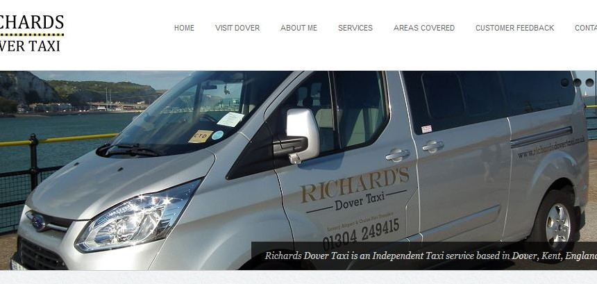 richards taxis dover website hosting