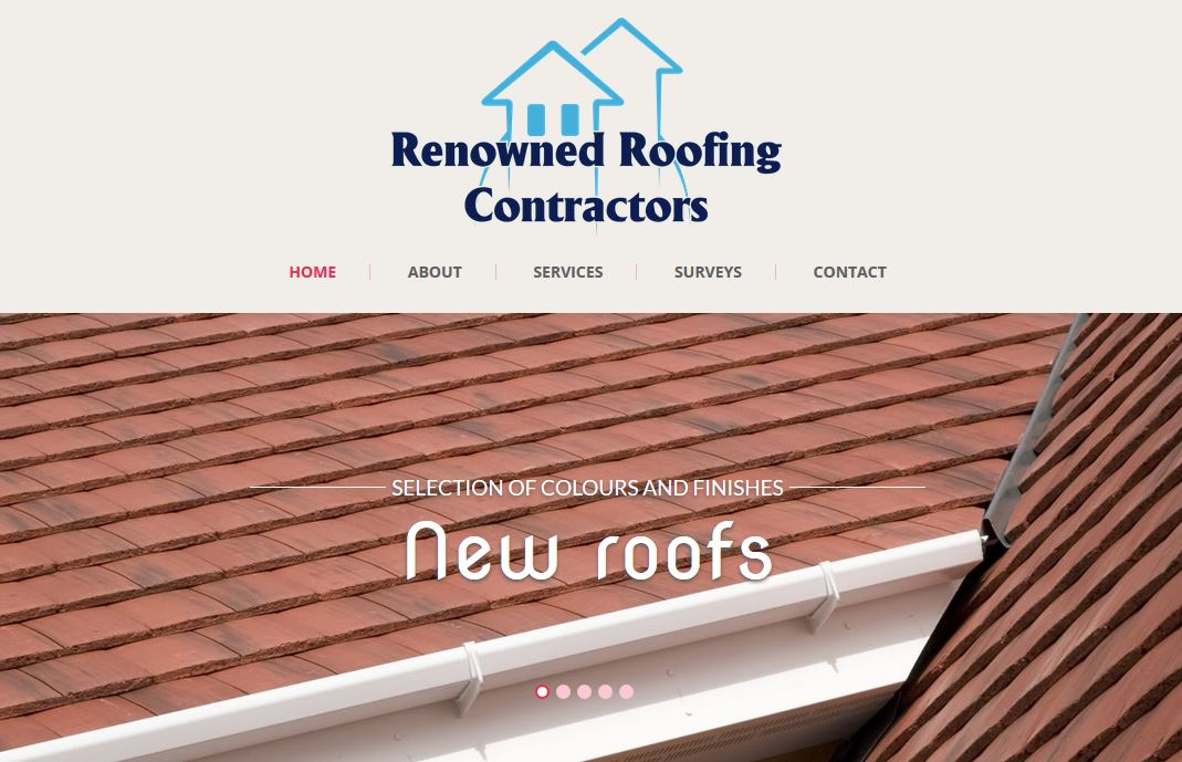 renowned roofing website