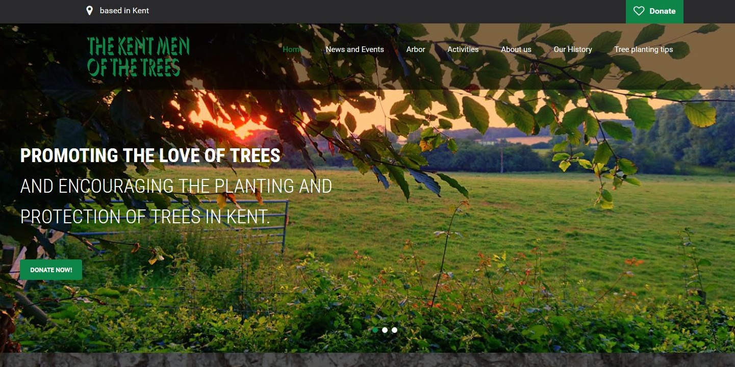 Kent Men of the Trees new website