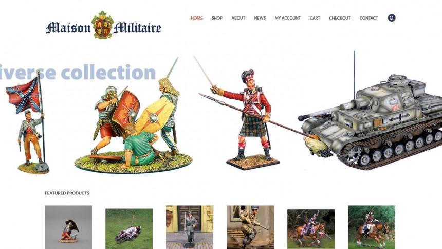 maison militaire e-commerce shop