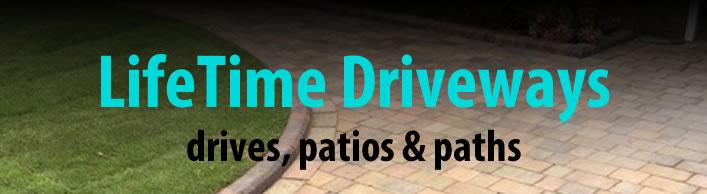 lifetime driveways website design