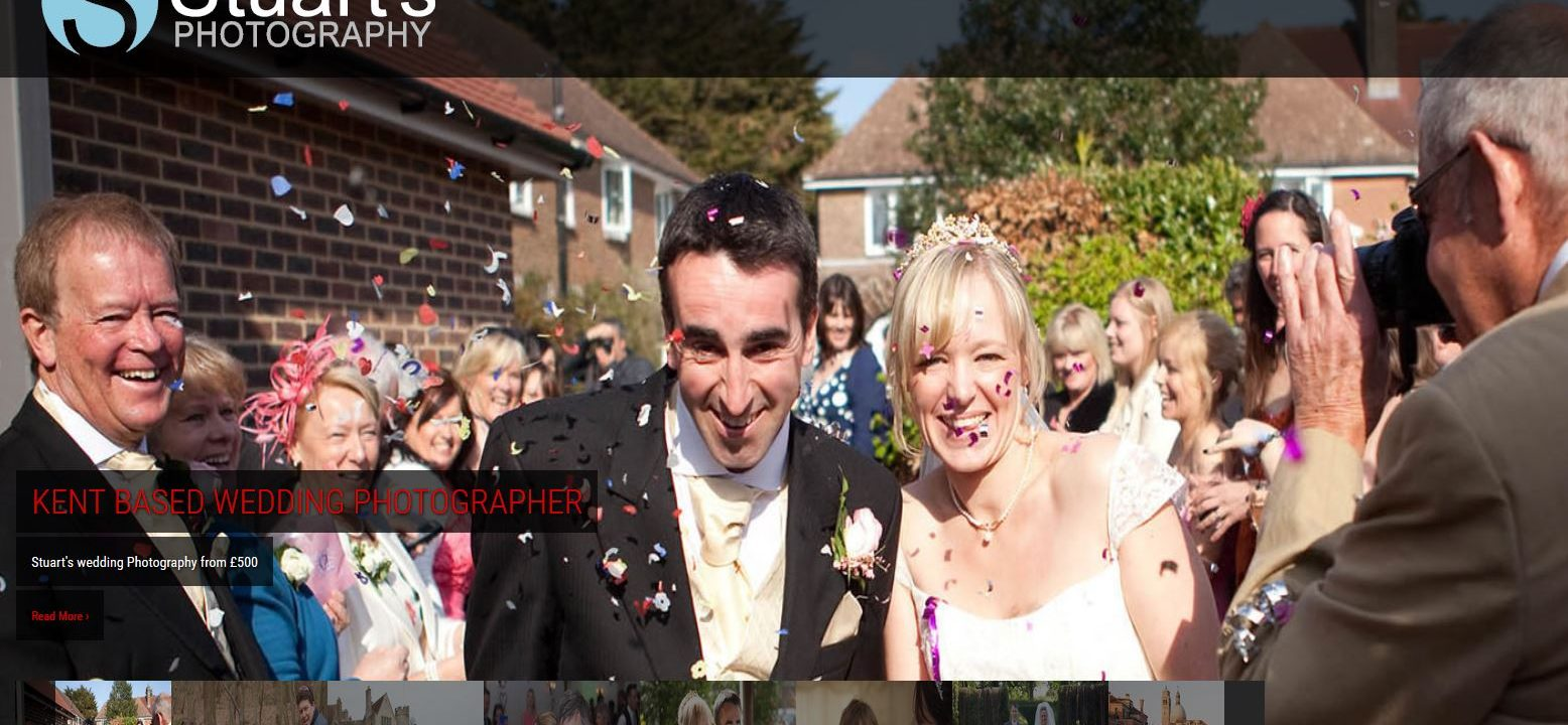 wedding photographers website