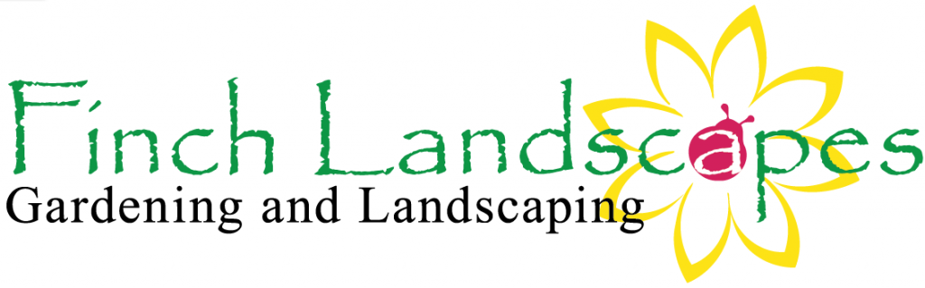 finch landscapes web logo design