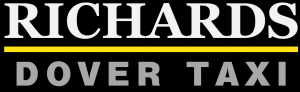 richards taxi dover logo design