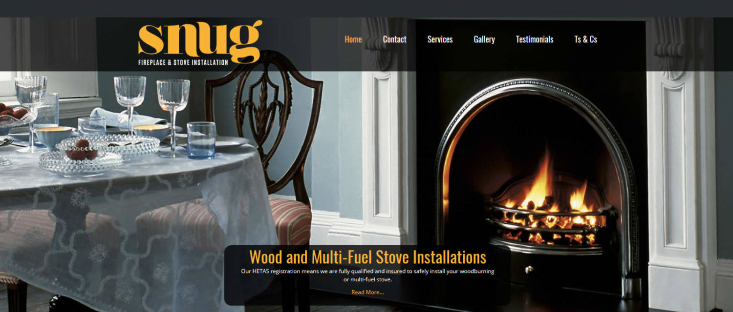 snug website design canterbury, kent