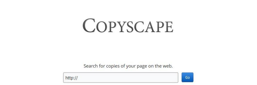 copyscape search website
