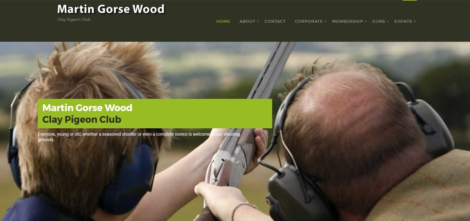 martin gorse gun club website