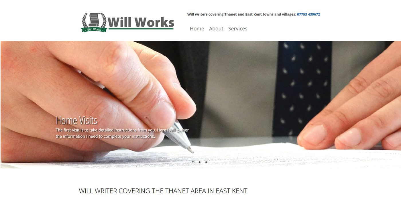 website for will writers in thanet
