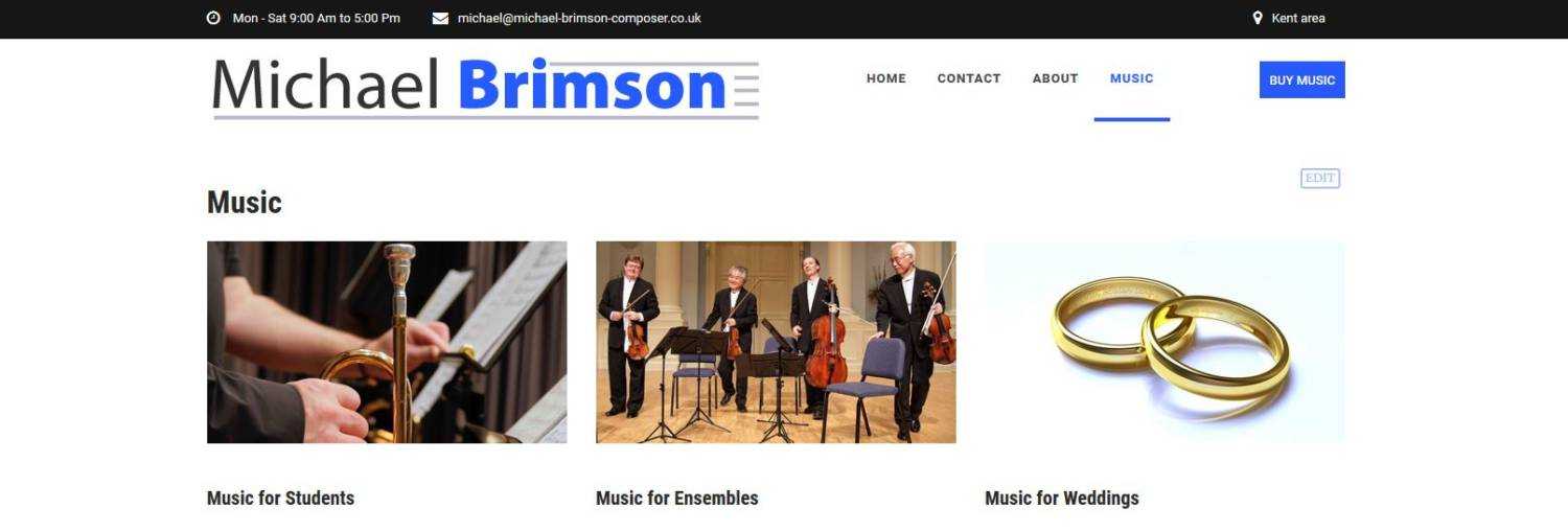 michael brimson musician and composer website
