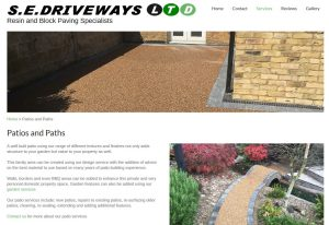 sedriveways website design