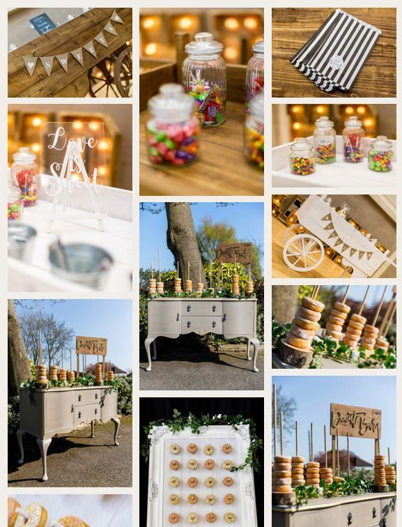coastal wedding event hire website design gallery page