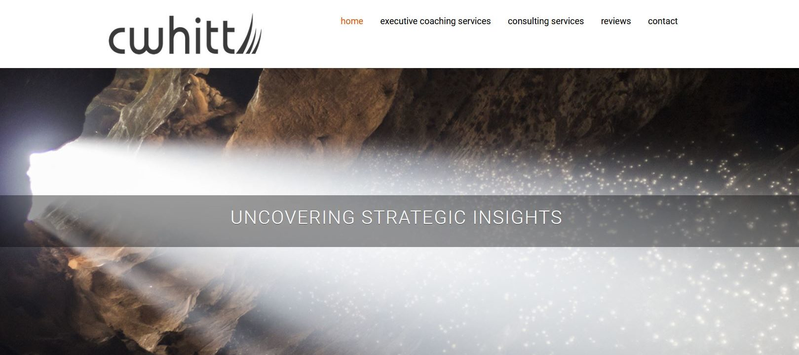 cwhitt new web design