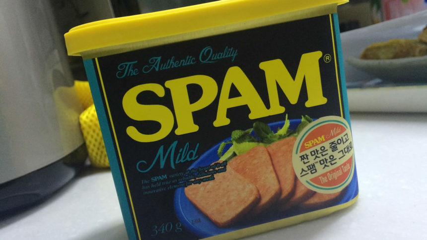 spam messages