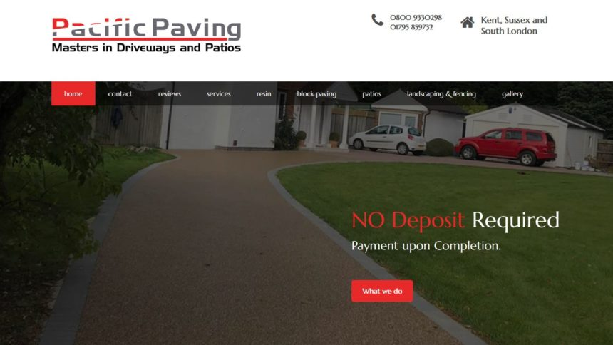 pacific paving home page