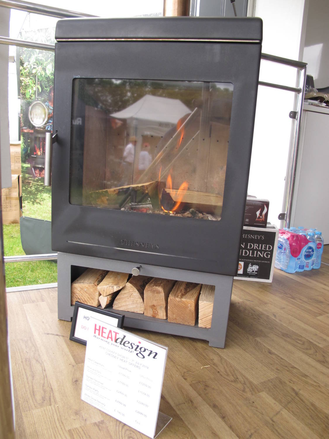Heat Design at The Kent Show, with Oast House Media