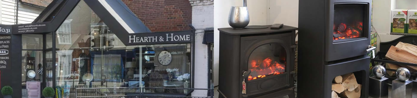 heat design canterbury log stoves