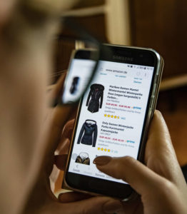 mobile phone On-line shopping and services enquiries surge