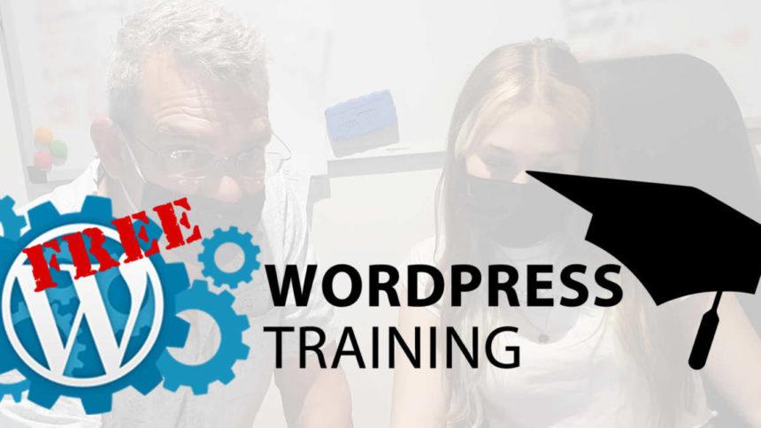 free wordpress training in kent