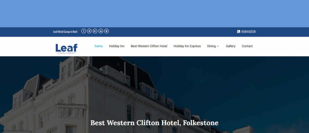 leaf group hotels in kent new wordpress web design